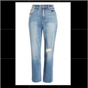 BP denim high waisted destructed Jeans 24